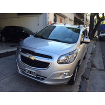 Chevrolet Spin 2013 Ltz 1.8 5 Asientos Color Gris Plata
