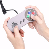 Joystick Usb Retro Tipo Super Nes - Para Consola Retro O Pc