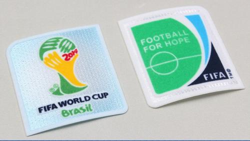 25d62b27eb Juego De Parches Mundial Brasil 2014 Seleccion Argentina