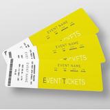 Impresión De Tickets Para Eventos