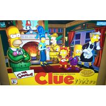Juego Clue Los Simpsons Original