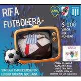 Rifa Futbolera Refugio San Vicente Analia Nitti