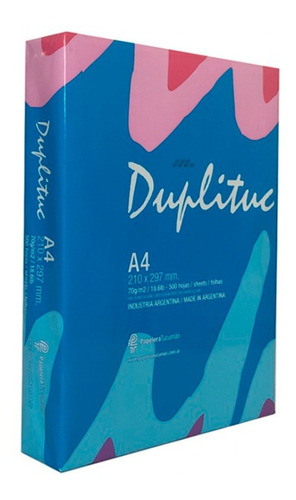 Resma A4 Duplituc 70 Gr Gramos Papel Obra Multifuncion