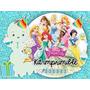 Kit Imprimible Princesas Candy Bar Invitaciones Y Mas