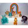 Baby Tv En Porcelana Fría-3 Personajes + Arcoiris Combinalos
