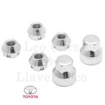 Tuercas De Seguridad Toyota Etios Corolla Camry Hilux Etc!!!