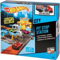 Pista Hot Wheels Pit Stop Station Parada Para Reparos Mattel