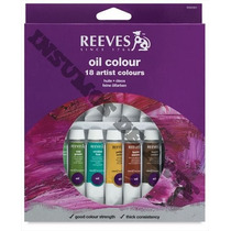 Set Oleos X 18 Colores - Reeves