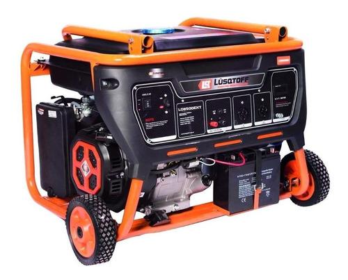 Generador Portátil Lüsqtoff Lg8500ex 8500w Monofásico Con Tecnología Avr 220v