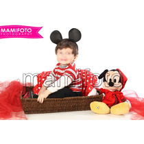 Sesion Fotos Profesional,bebe Minnie Mini Mickey Mouse Nene