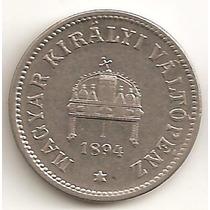 Hungria, 10 Filler, 1894. Xf