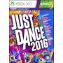 Just Dance 2016 Xbox 360 Nuevos Sellados Formato Físico