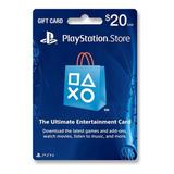 Tarjeta Psn 20 U$ Digital Usa | Entrega Inmediata- Gamer24hs