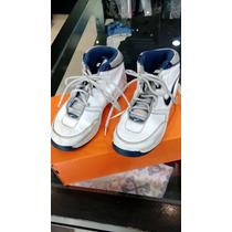 Zapatillas Botitas Nike Basquet Cuero N°38,5