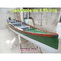 Canobote Nuevos A $4500.- Nuevos En San Fernando
