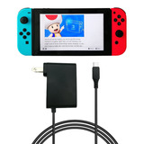 Nintendo Switch Cargador Original Jugá Con Tv Mientras Carga