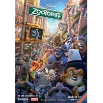 Poster Cine Original -zootopia