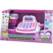 Caja Registradora Juliana Con Accesorios Luz Sonido Urquiza