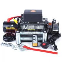 Malacate 5400 Kg (12000 Lbs) 12v. Control Remoto Importado