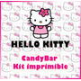 Candy Bar Kit Imprimible De Hello Kitty. Editables