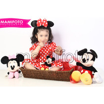 Book De Fotos Minnie Mickey Mouse Cumple Disfraz Divertido