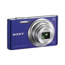 Cámara Digital Sony W730- Color Celeste Envío Gratis