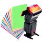 Filtro Gel Color Flash. Gelatinas Colores Varios. Completo.
