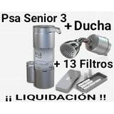 Purificador De Agua Psa Senior 3 + 13 Filtros + Ducha Psa
