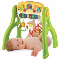 Gimnasio Bebe Luz Musical Ok Baby Juguete Didáctico 3 En 1