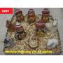 Pesebres De Ceramica Horneada - Hechos En Salta