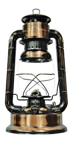 Farol Lampara Candil Kerosene 150gr Bronce Antiguo Mecha 12h