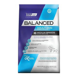 Alimento Vitalcan Balanced Perro Adulto Raza Mediana 3kg