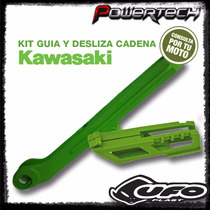 Kit Guia Y Desliza Cadena Horquillon Kawasaki Kxf 250 450