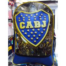 Mochila Colegio Boca Juniors Excelente Calidad - Microcentro