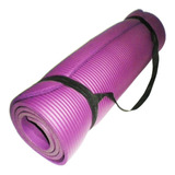 Yoga Mat Colchoneta Pilates Neoprene. 10mm Fitness - El Rey