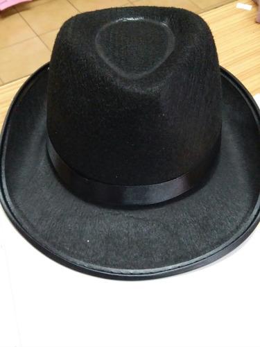 2bf0bf9ce Sombrero Negro Estilo Malevo Tanguero Gorro Cotillón Betina en venta ...
