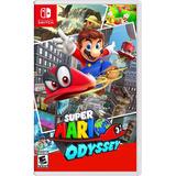 Super Mario Odyssey Nintendo Switch Fisico New Full Gamer