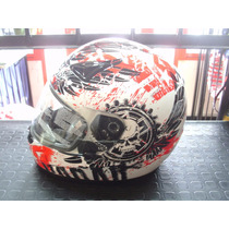 Excelente Casco Alltop Red En Rpmotos!!!