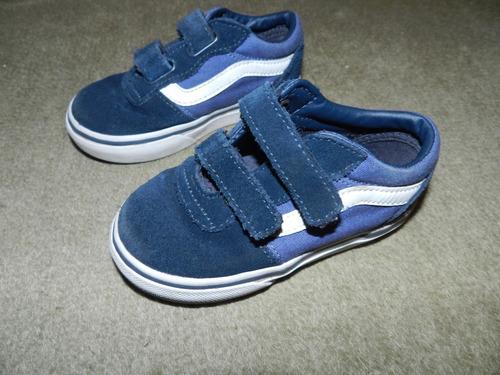 Zapatillas Vans Bebe Niño Nene Originales Talle 7 Us 2 Años