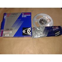 Kit De Transmision De Yamaha Ybr125 Original