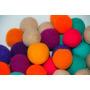 Esferas En Crochet (pack De 12 Unidades)