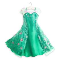 Vestido Disfraz Elsa Frozen Fever- Original Disney Store!