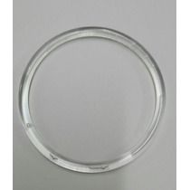 Argolla Plastica Transparente 10 Cm - Atrapa Sueños
