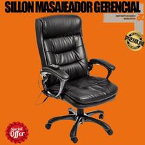 Sillon Masajeador Presidencal Ejecutivo Gerencial Premium