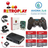 Consola Retro Arcade Retroplay 128gb + 10000 Roms + 2 Joy