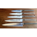Hojas Para Encabar Cuchillos Acero Inox 14 Cm - 10 Unidades