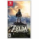 The Legend Of Zelda:breath Of The Wild Nintendo Switch