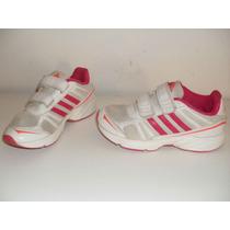 Zapatillas Nenas Adidas Nº 32 Cuero Muy Lindas Oferton!!!!