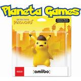 Amiibo Detective Pikachu Nuevos Blister Cerrado