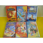 Lote 6 Videos Infantiles Disney Originales En Caja Cons